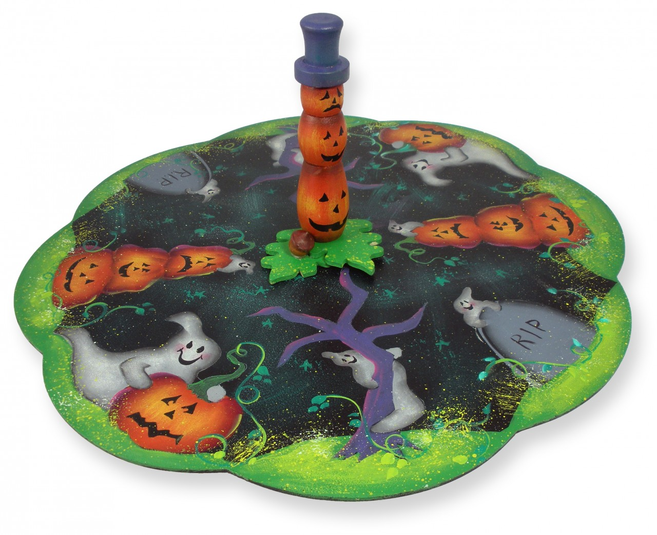 Halloween Lazy Susan packet - Patricia Rawlinson