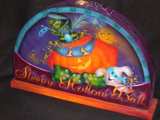 Spooky Hollow Ball packet - Patricia Rawlinson