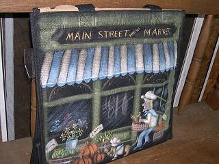 Main Street Market Bag packet - Patricia Rawlinson