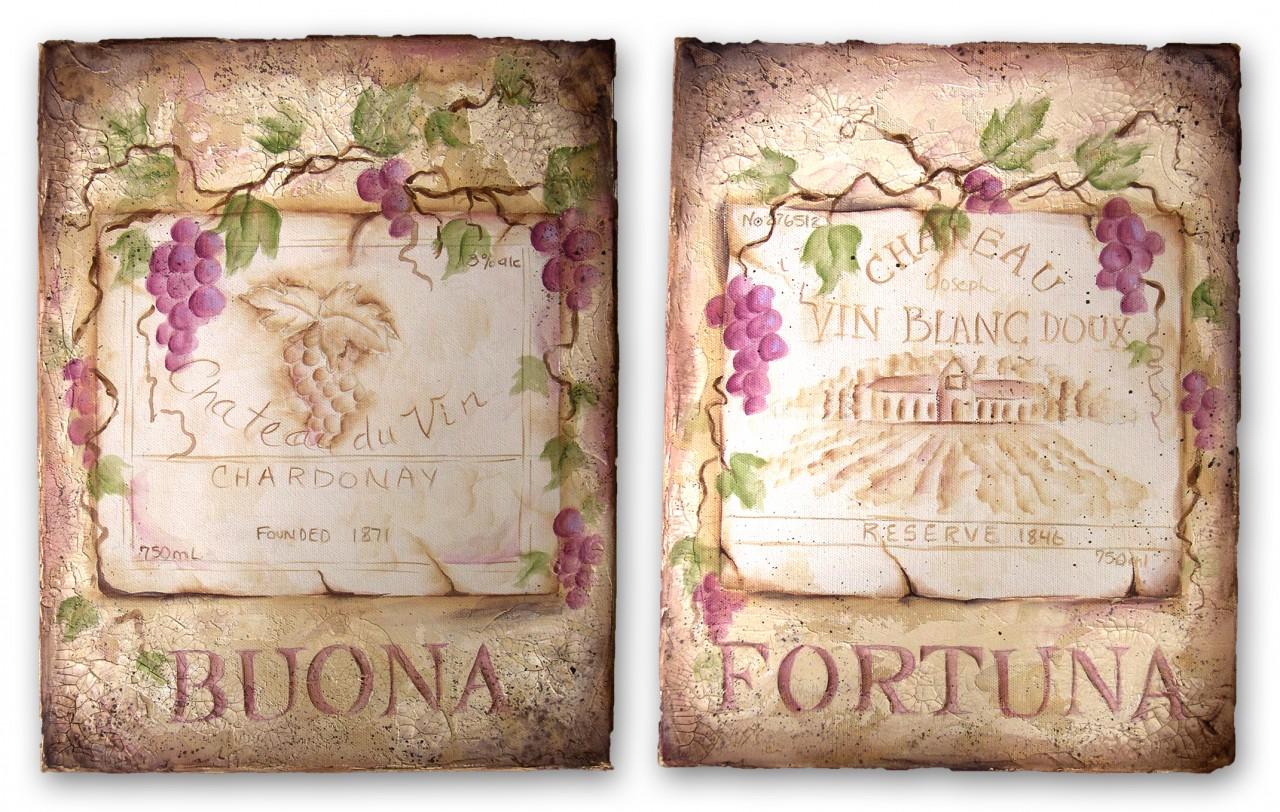 Buona Fortuna packet - Patricia Rawlinson