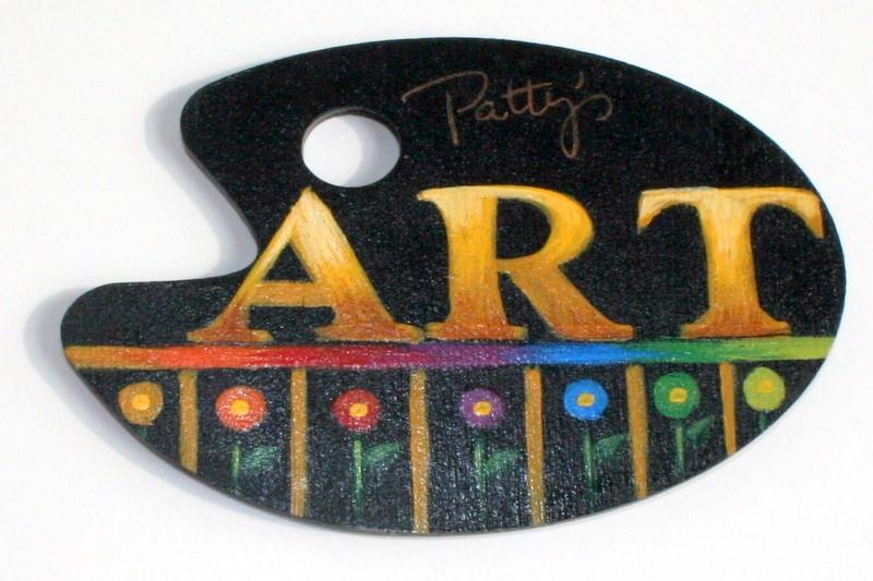 Art Palette packet - Patricia Rawlinson
