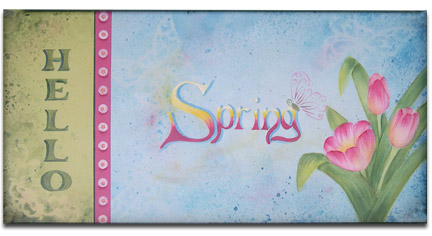 Hello Spring! packet - Patricia Rawlinson