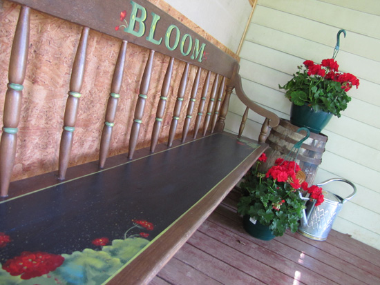 Bloom Bench packet - Patricia Rawlinson