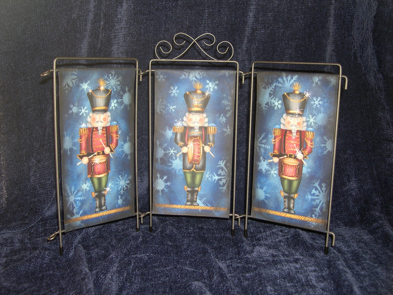 Nutcracker Banner Triptych packet - Patricia Rawlinson
