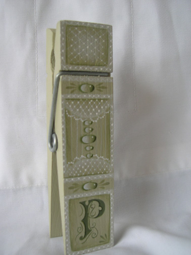 Initially Lace Clip packet - Patricia Rawlinson