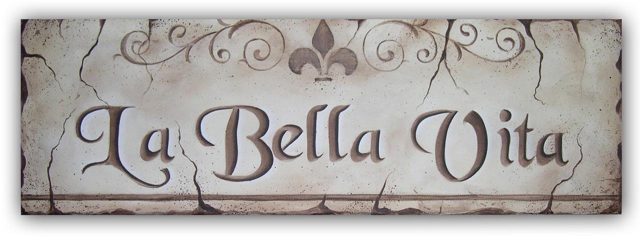 La Bella Vita packet - Patricia Rawlinson