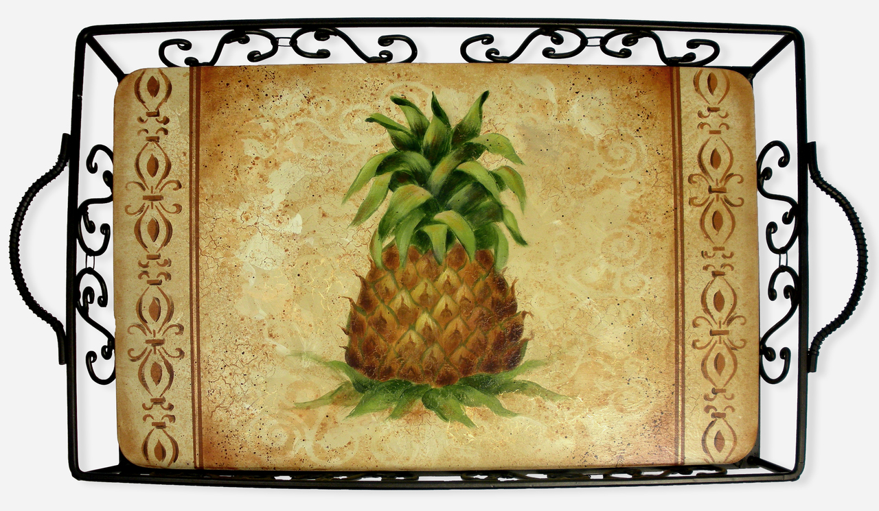 Textured Pineapple Tray packet - Patricia Rawlinson