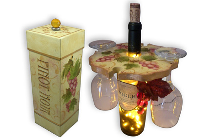 Elegant Wine Duo packet - Patricia Rawlinson