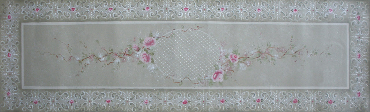 Battenburg Lace and Roses packet - Patricia Rawlinson