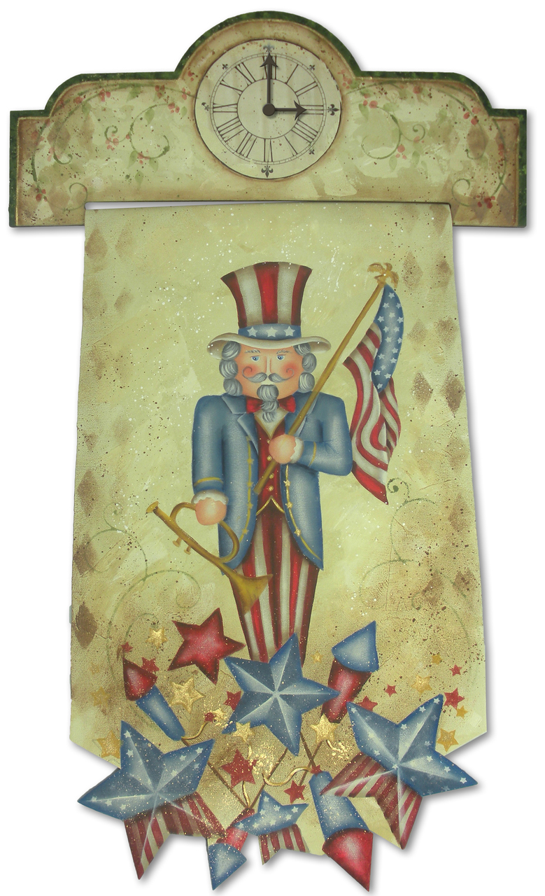 Patriotic Nutcracker packet - Patricia Rawlinson