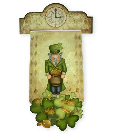 Leprechaun Nutcracker packet - Patricia Rawlinson