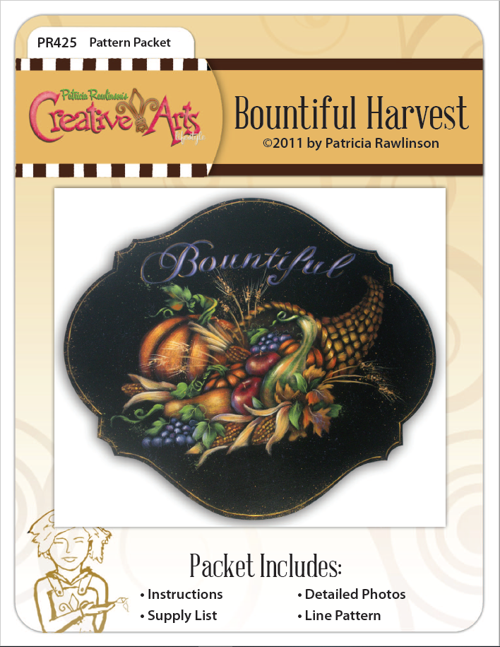Bountiful Harvest packet - Patricia Rawlinson