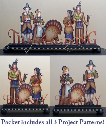 Thanksgiving & Bounty Centerpiece packet - Patricia Rawlinson