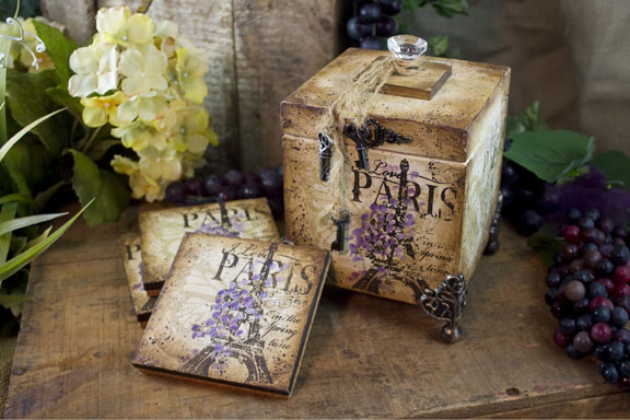 Paris In Spring Time packet - Patricia Rawlinson