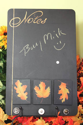 Autumn Leaves Perpetual Chalkboard packet - Patrica Rawlinson