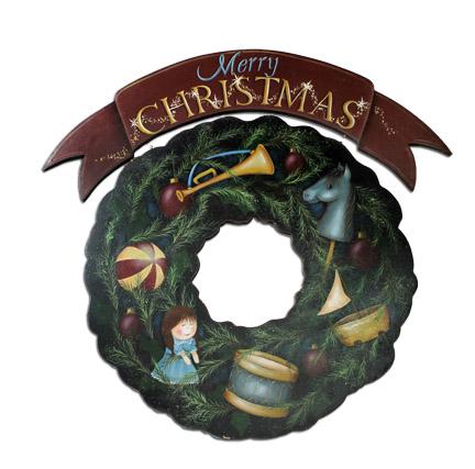 Toyland Wreath packet - Patricia Rawlinson
