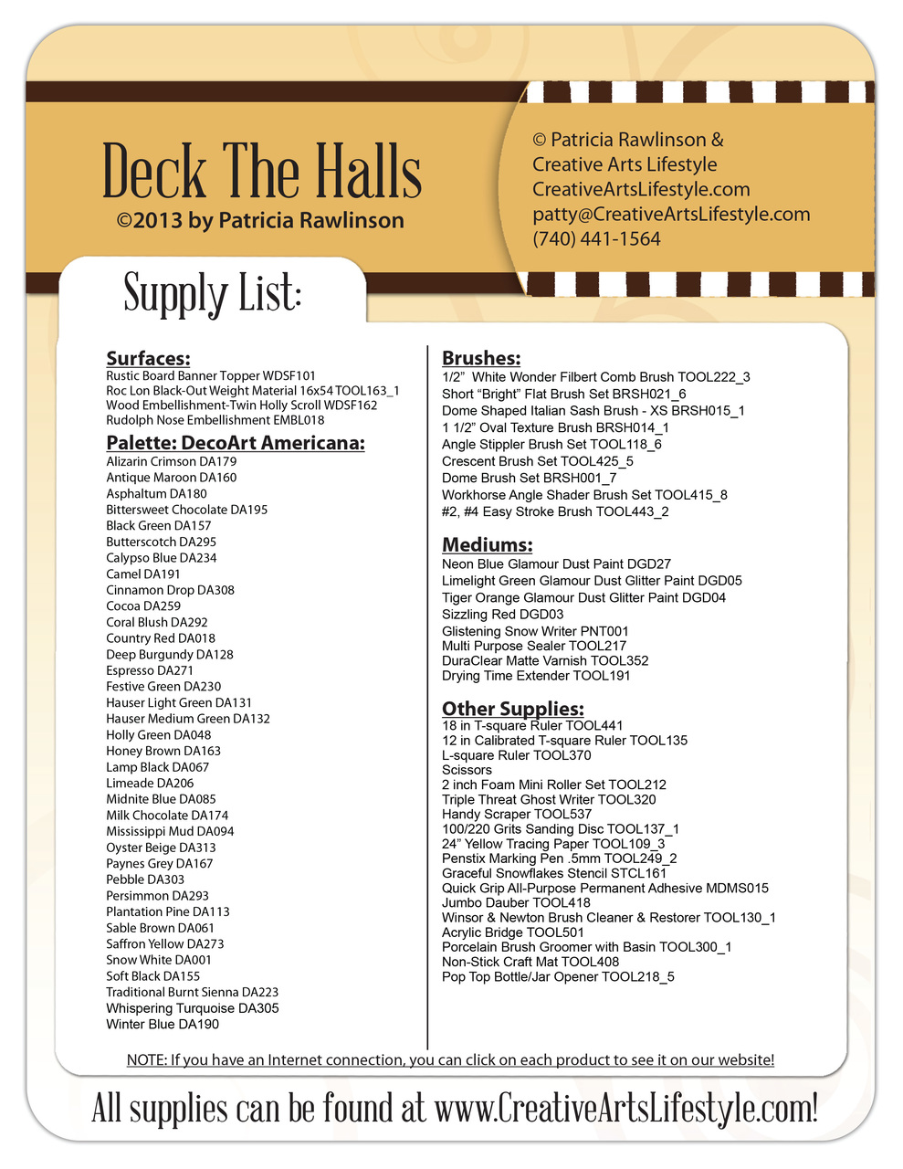Deck the Halls Pattern Packet - Patricia Rawlinson