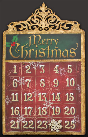 Countdown to Christmas Pattern Packet - Patricia Rawlinson