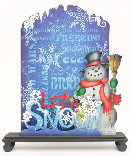 Let It Snow Chalkboard Set Pattern Packet - Patricia Rawlinson