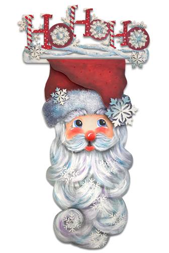 Ho Ho Ho Santa Banner Pattern Packet - Patricia Rawlinson