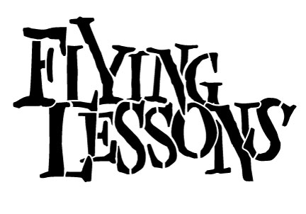Word Stencil - Flying Lessons - Large
