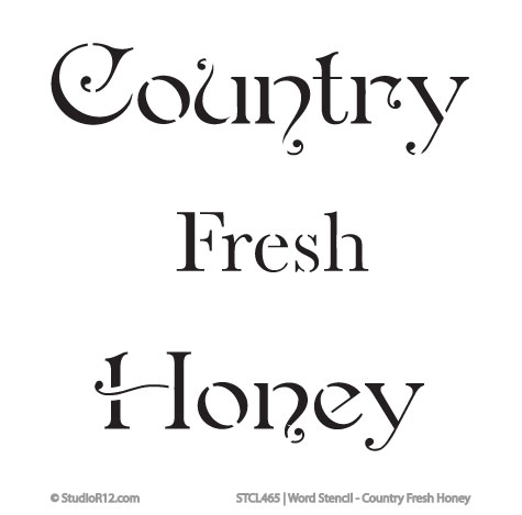 Country Fresh Honey