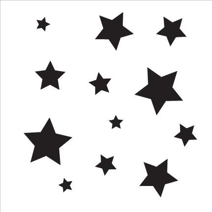 """Little Stars - 6"""" x 6"""""""