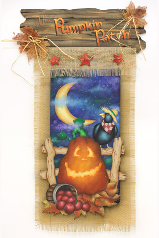 The Pumpkin Patch DVD & Pattern Packet - Patricia Rawlinson