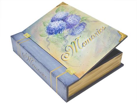 Hydrangea Memory Box Pattern Packet - Patricia Rawlinson