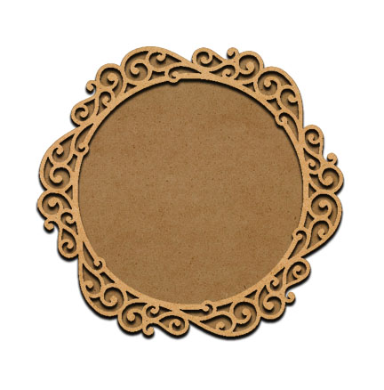 Enchanted Round Frame Overlay - Large