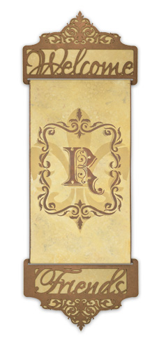 Monogram Banner E-packet - Patricia Rawlinson