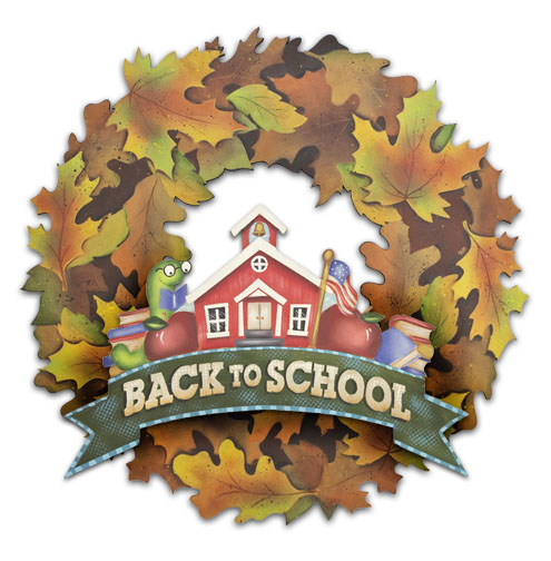 Back to School Wreath DVD & Pattern Packet - Patricia Rawlinson
