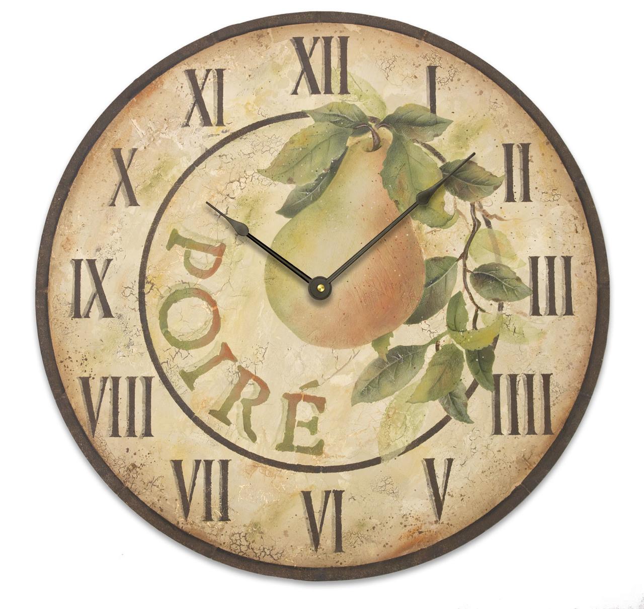 Pear Clock DVD & Pattern Packet - Patricia Rawlinson