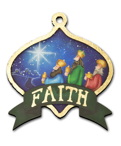 Nativity Ornament Collection Pattern Packet - Patricia Rawlinson