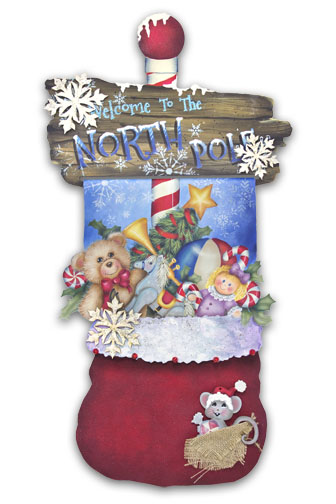 Santa's Magic Bag DVD & Pattern Packet - Patricia Rawlinson