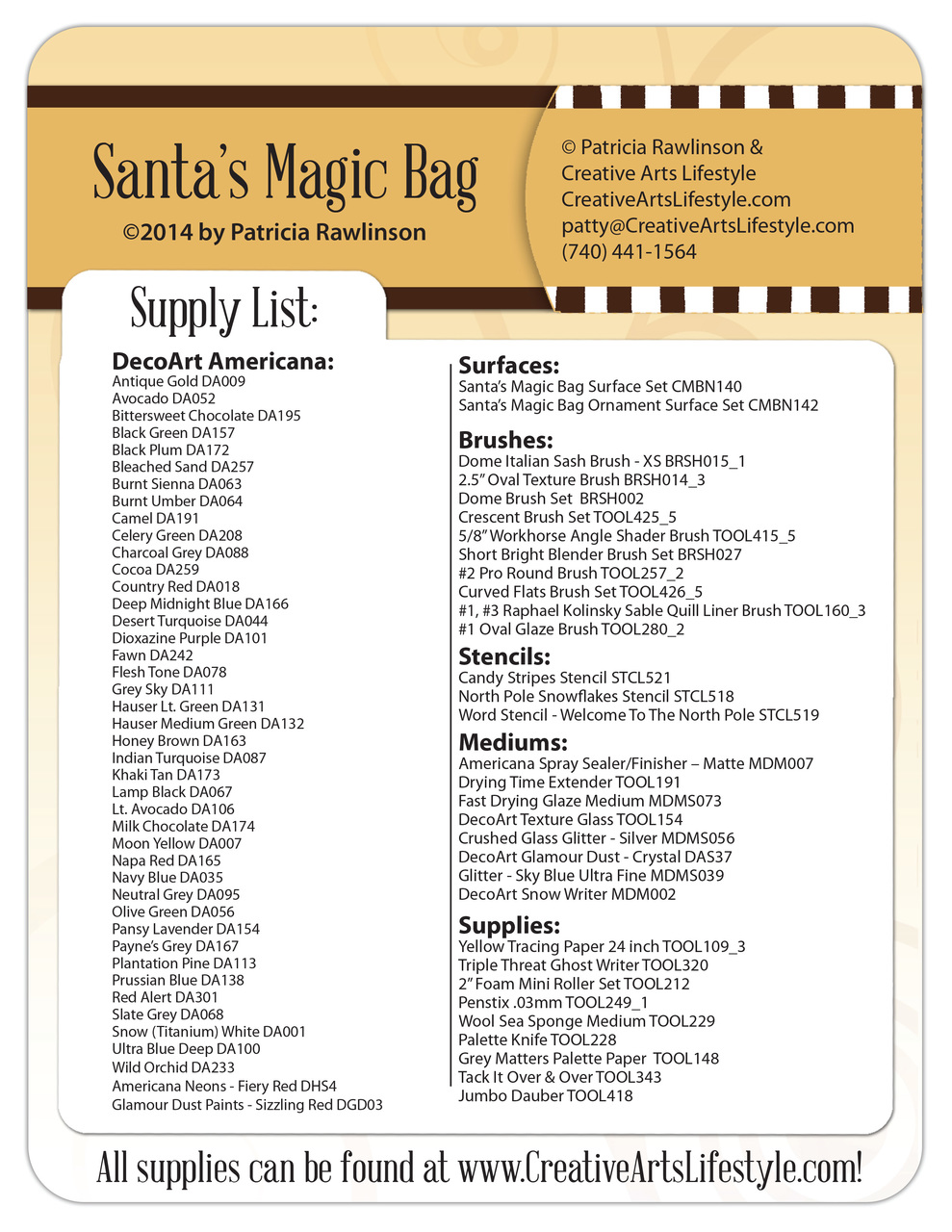 Santa's Magic Bag E-packet - Patricia Rawlinson