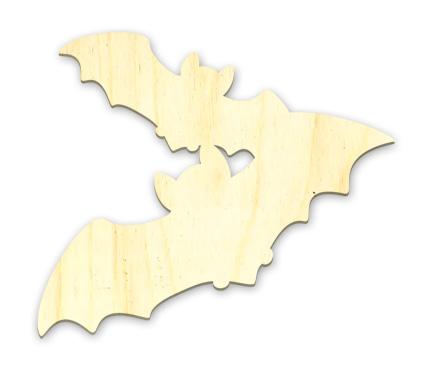 Bat Duo Embellishment - Large