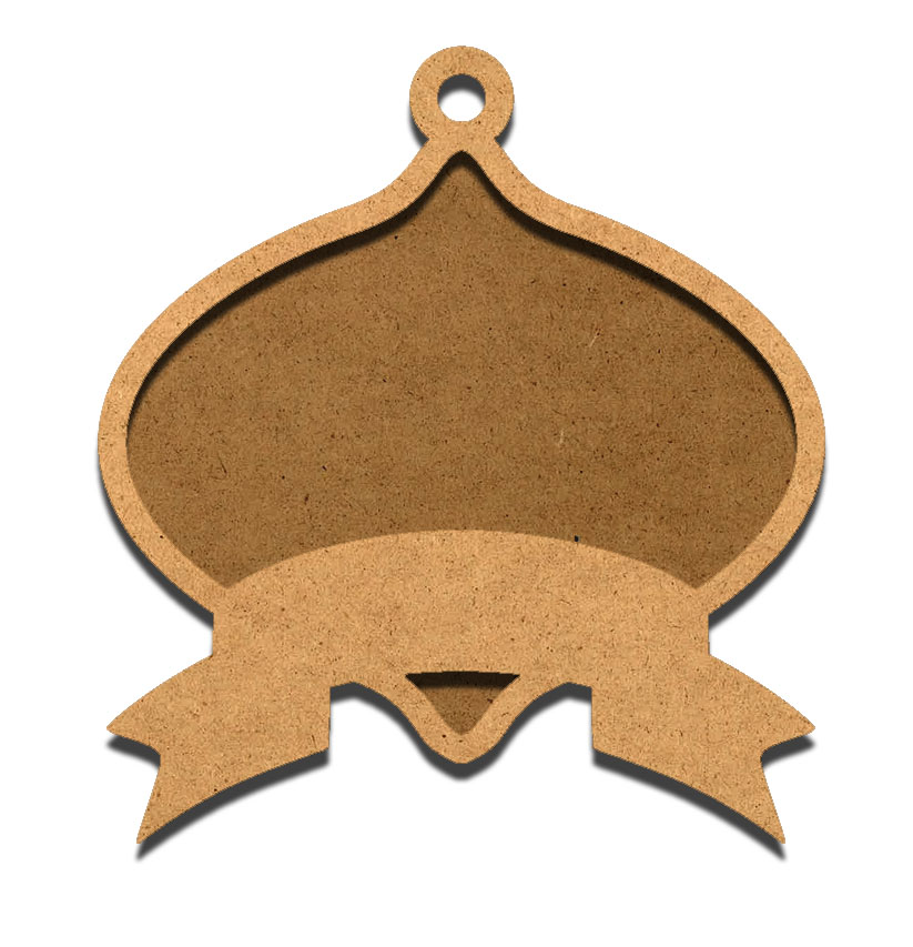 Classic Oval Tapered Plaque with Overlay