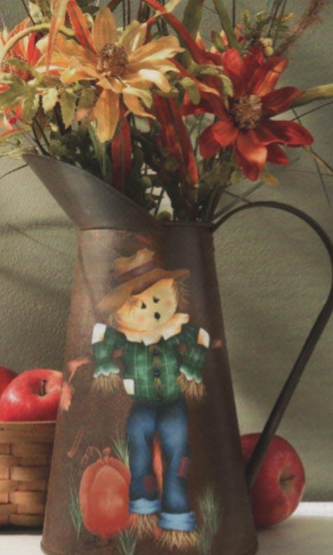 Fall Scarecrow - E-Packet - Anita Morin