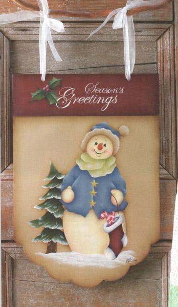 Seasons Greetings Banner - E-Packet - Anita Morin