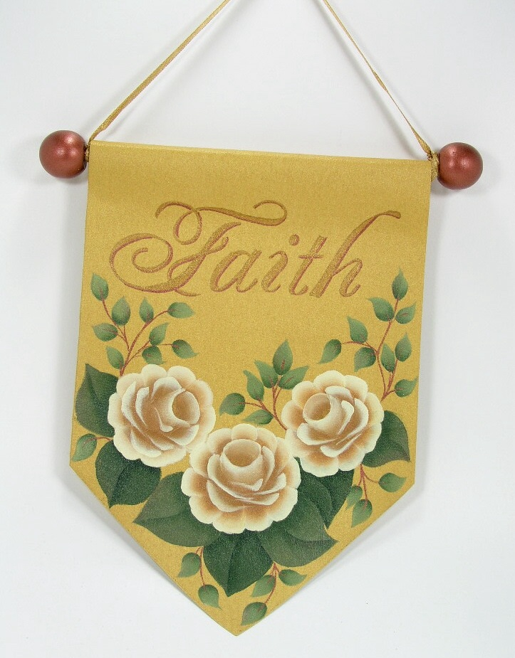 Faith & Roses Mini Banner - E-Packet - Jeanne Bobish