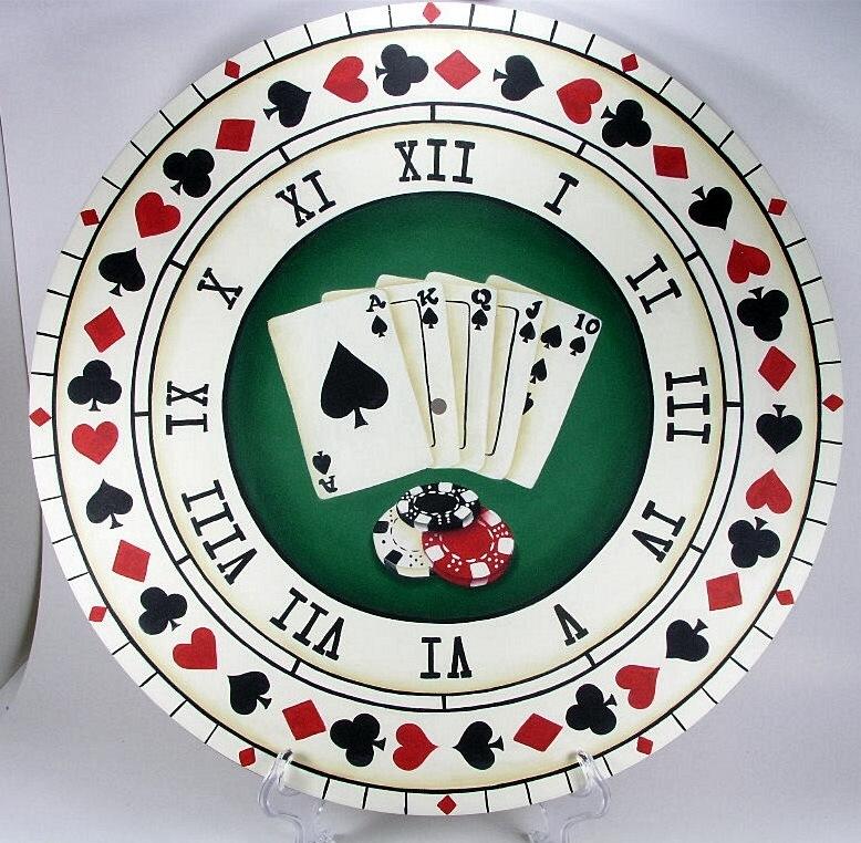 Card Player's Clock - E-Packet - Jeanne Bobish