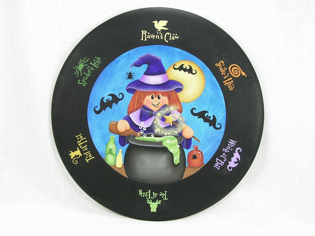 Magic Potion Plate - E-Packet - Jeanne Bobish