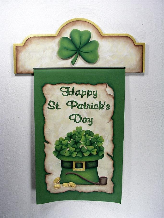 St. Patrick's Day Banner - E-Packet - Jeanne Bobish