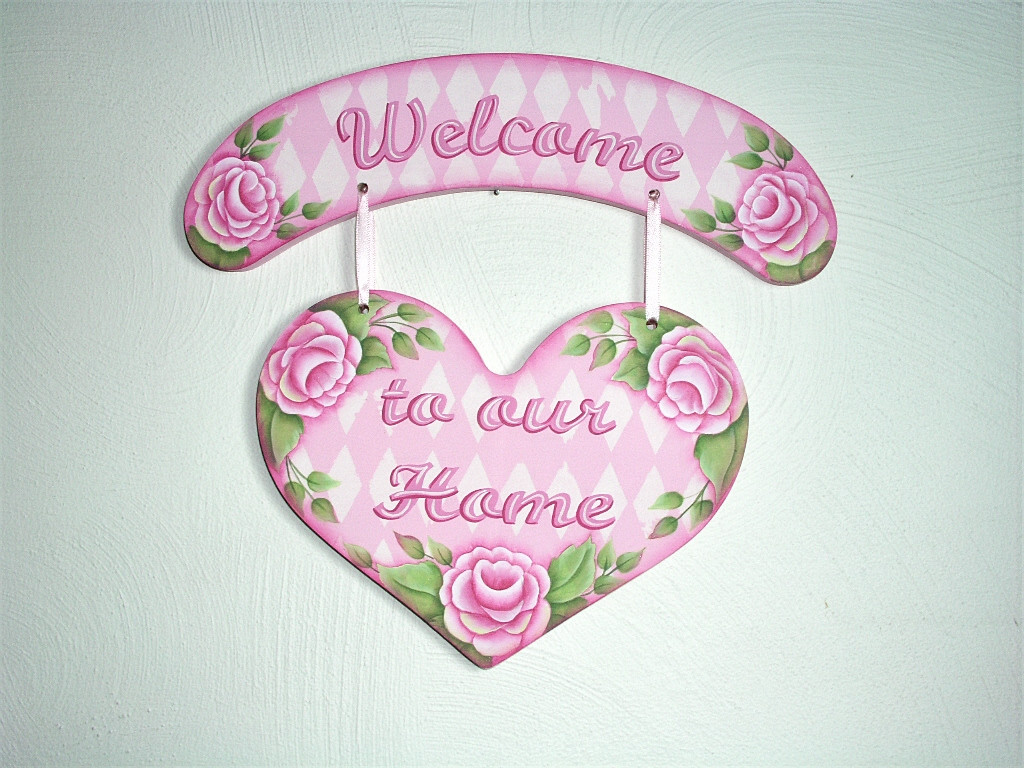Lovely Roses Welcome Sign - E-Packet - Jeanne Bobish
