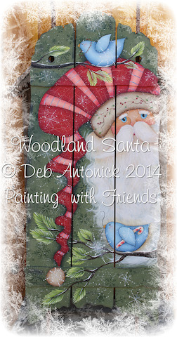 Woodland Santa - E-Packet - Deb Antonick