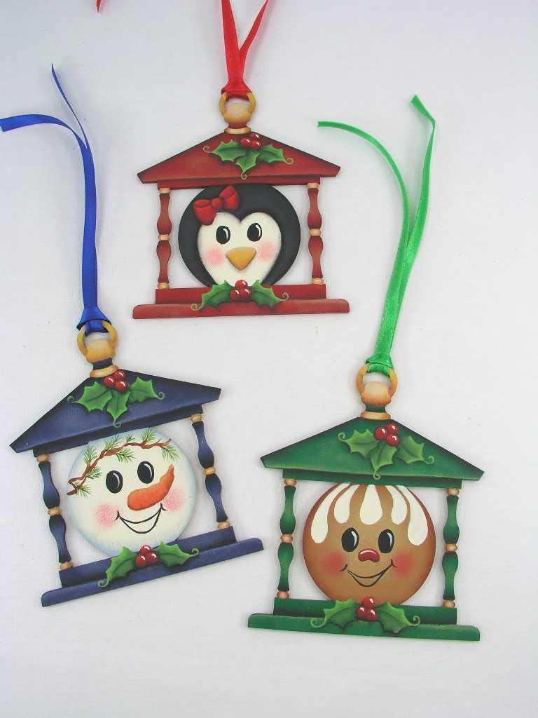 Holly Honeys Lantern Ornaments - E-Packet - Jeanne Bobish
