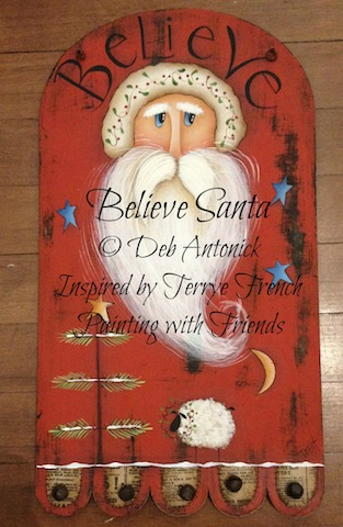 Believe Santa - E-Packet - Deb Antonick