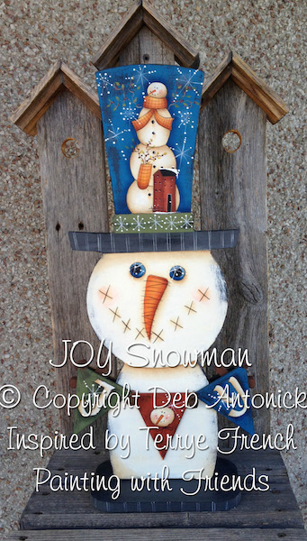 Joy Snowman - E-Packet - Deb Antonick