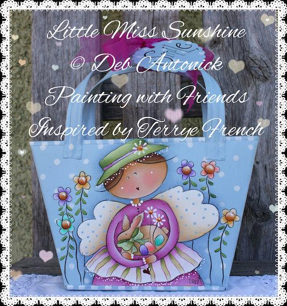 Little Miss Sunshine - E-Packet - Deb Antonick